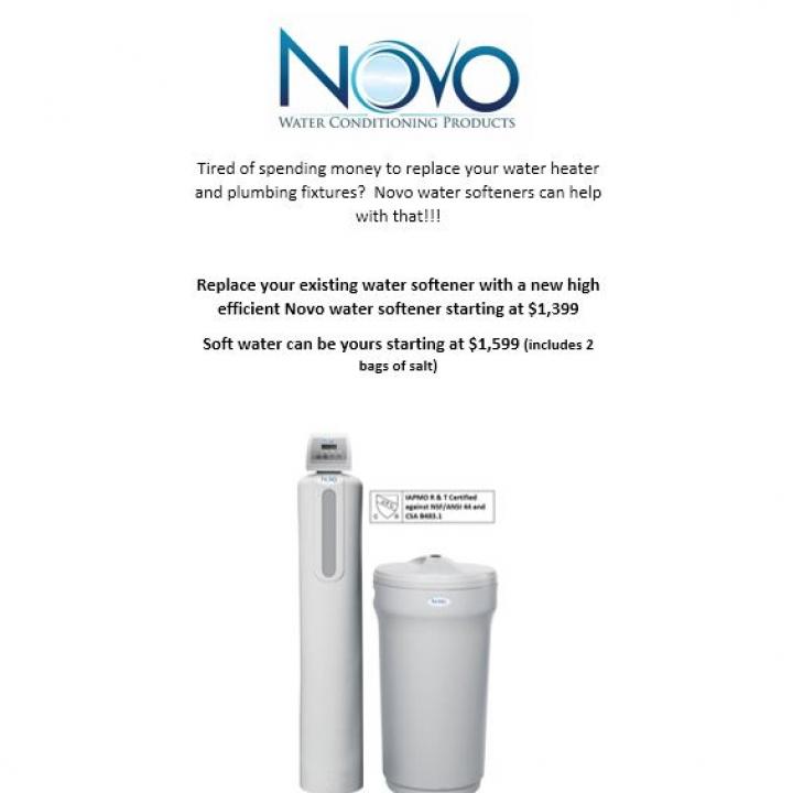 NOVO Water Softener